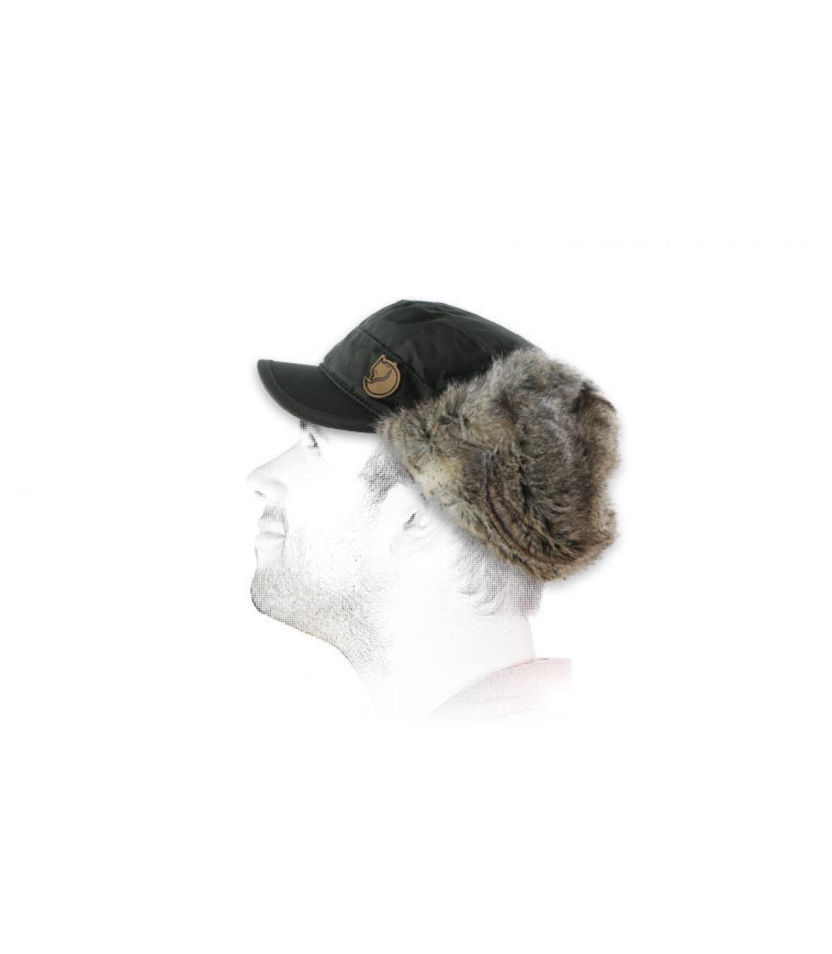 Woodsman cap mountain grey