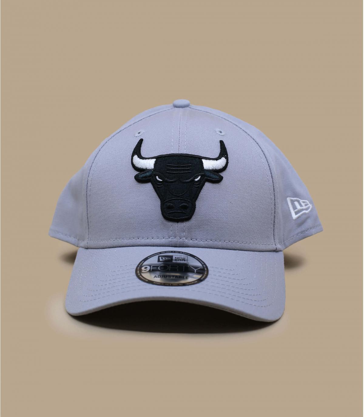 gorra Bulls gris