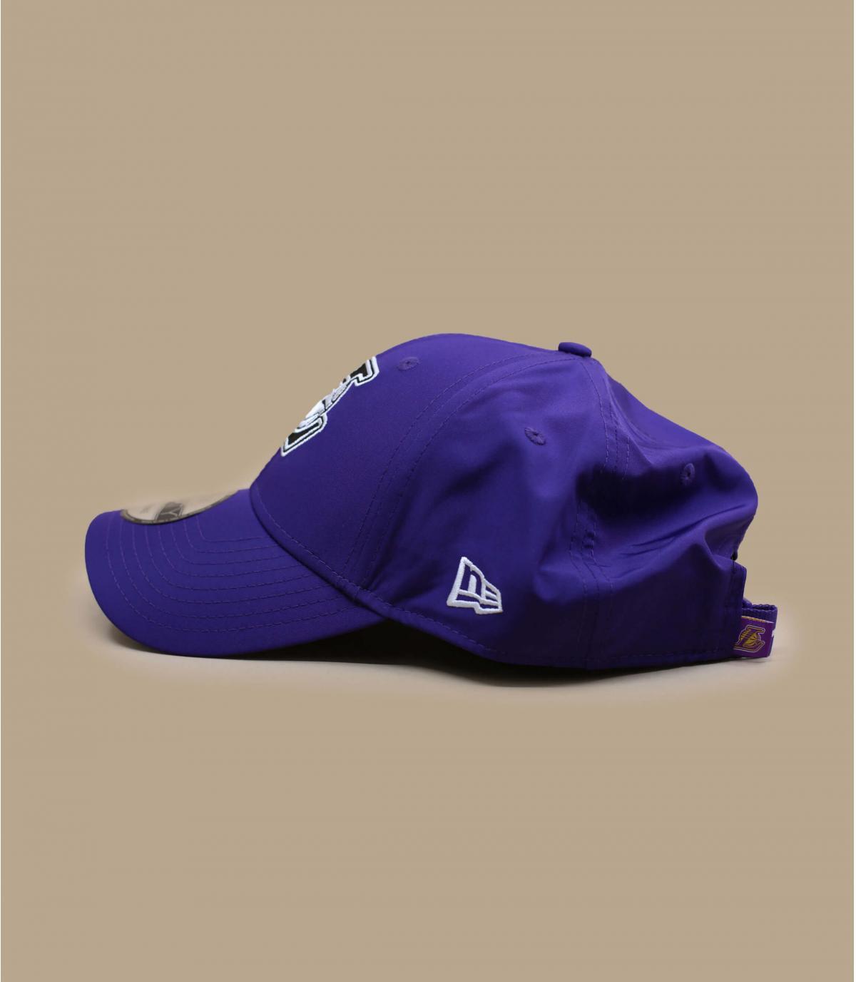 gorra Lakers violeta