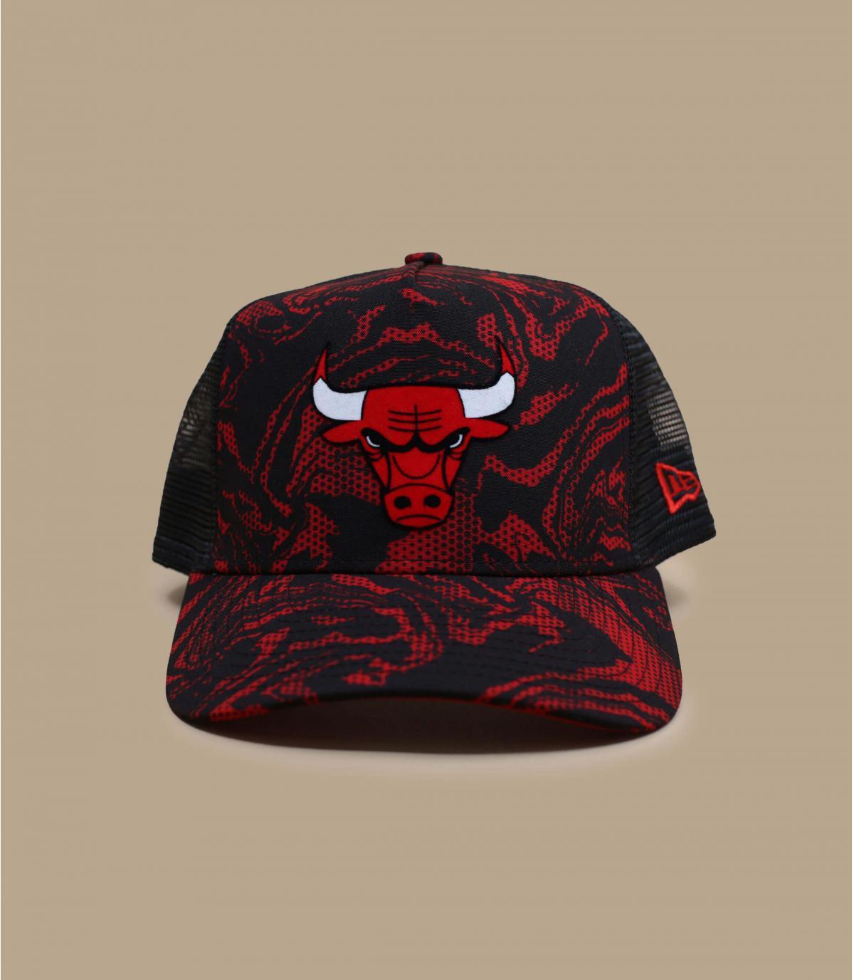 trucker camuflaje Bulls