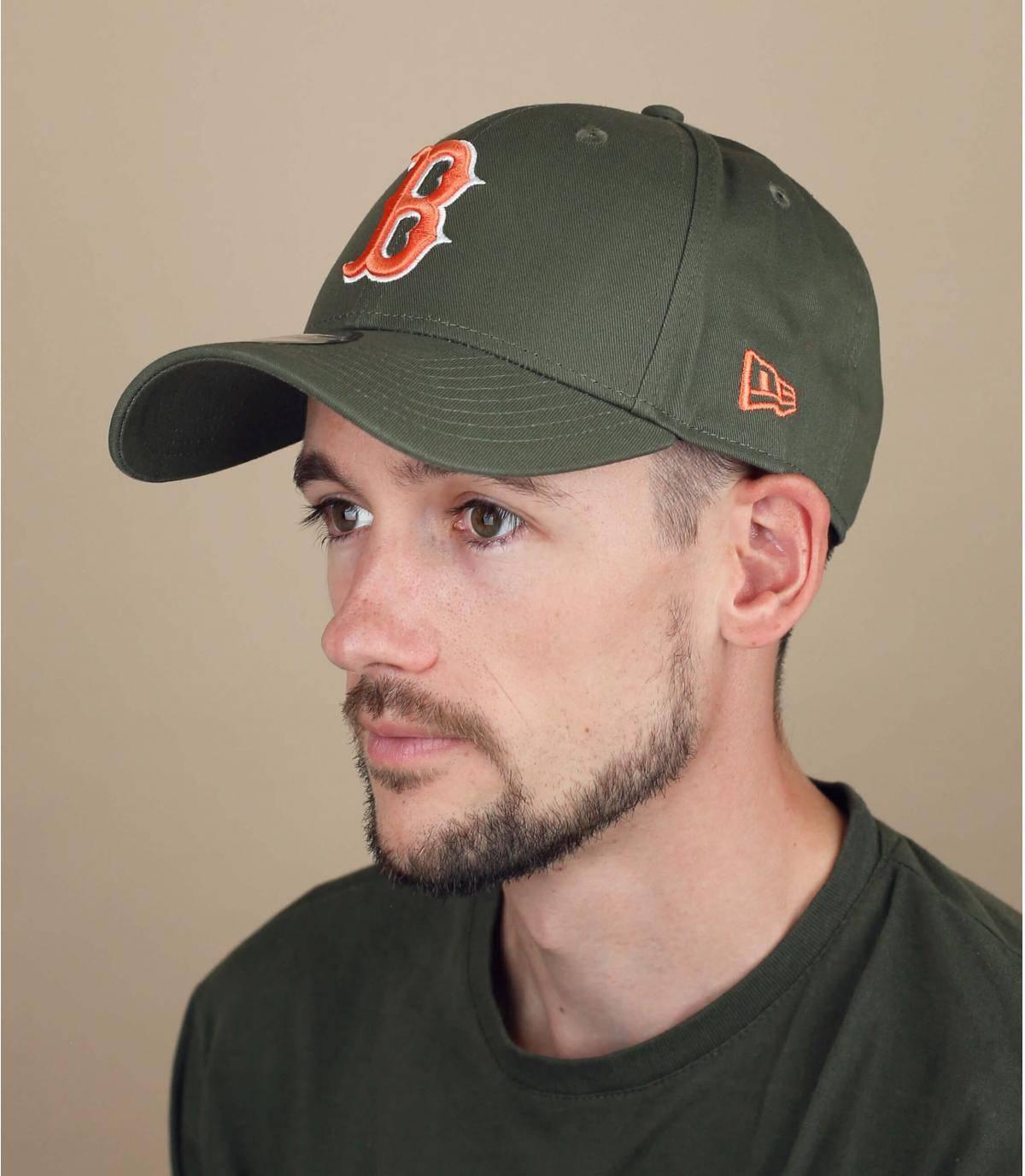 gorra B verde