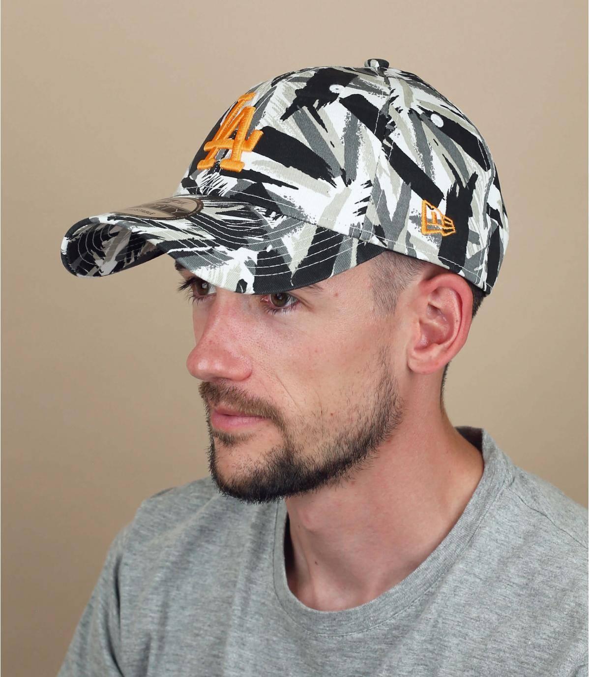 gorra LA con estampado