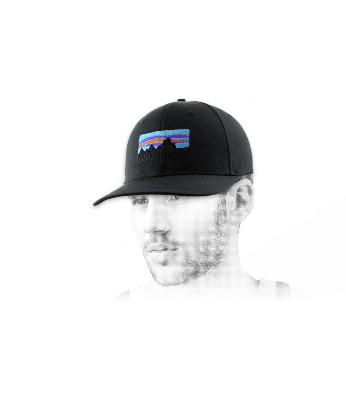 73 logo roger that hat black