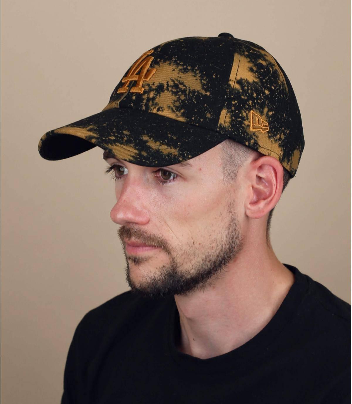 gorra LA negro