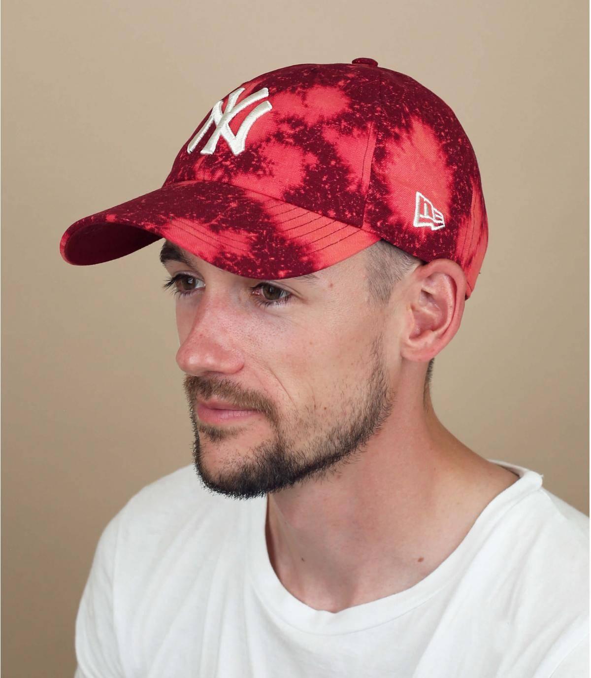 gorra NY rojo