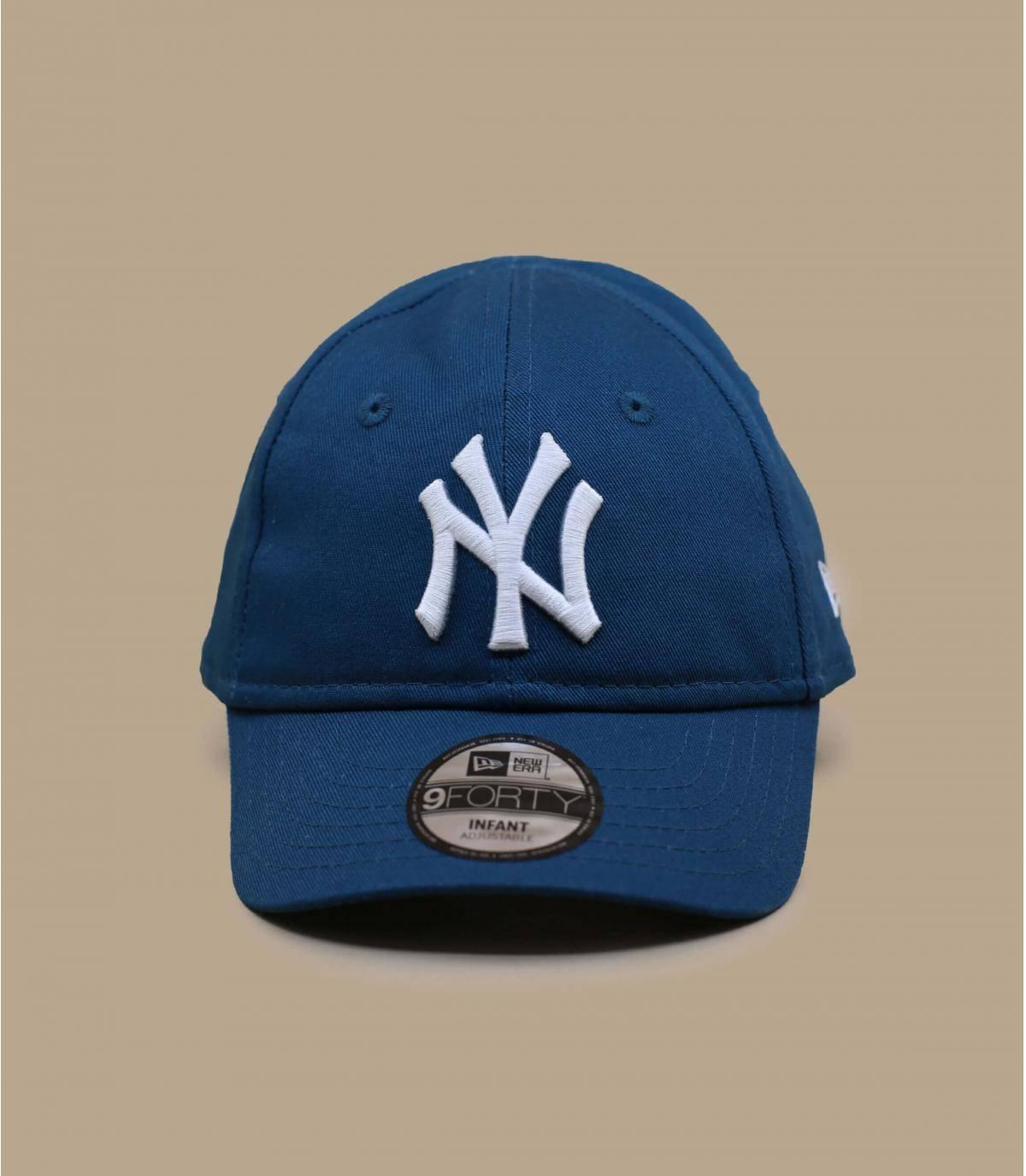 gorra bebé NY  azul