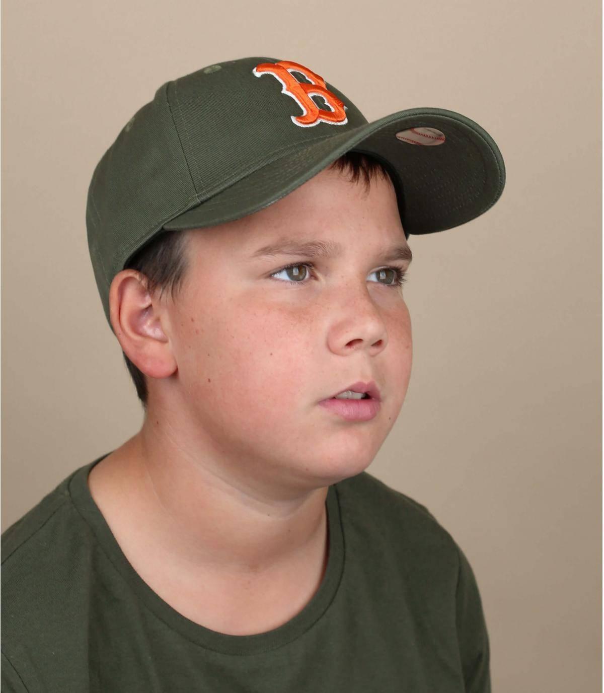 gorra niño B verde