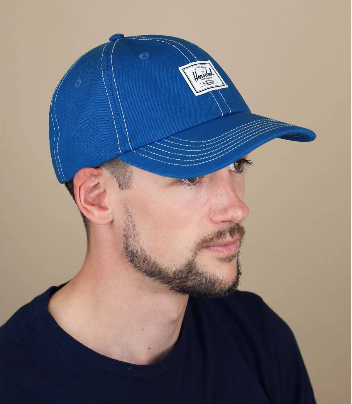 Gorra Herschel azul