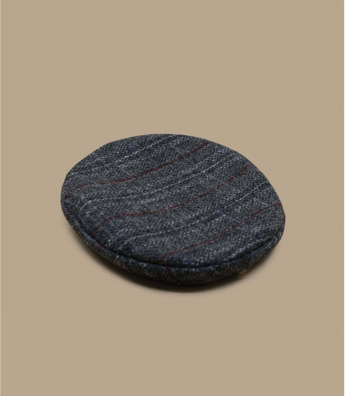 Boina tweed gris