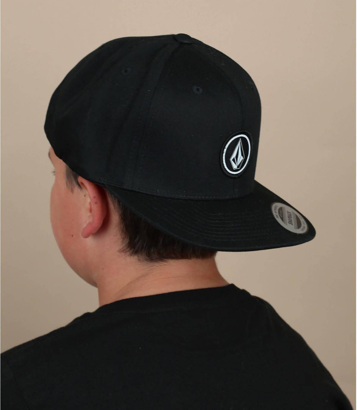 Gorra niño Volcom negra