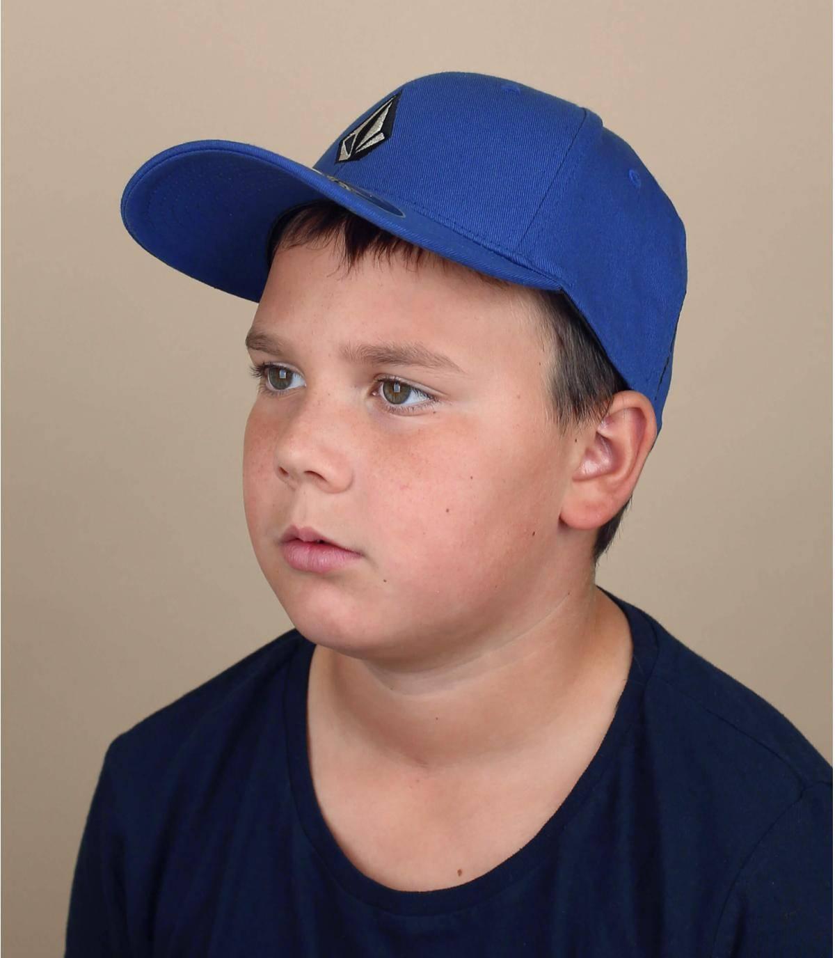 Gorra niño Volcom azul