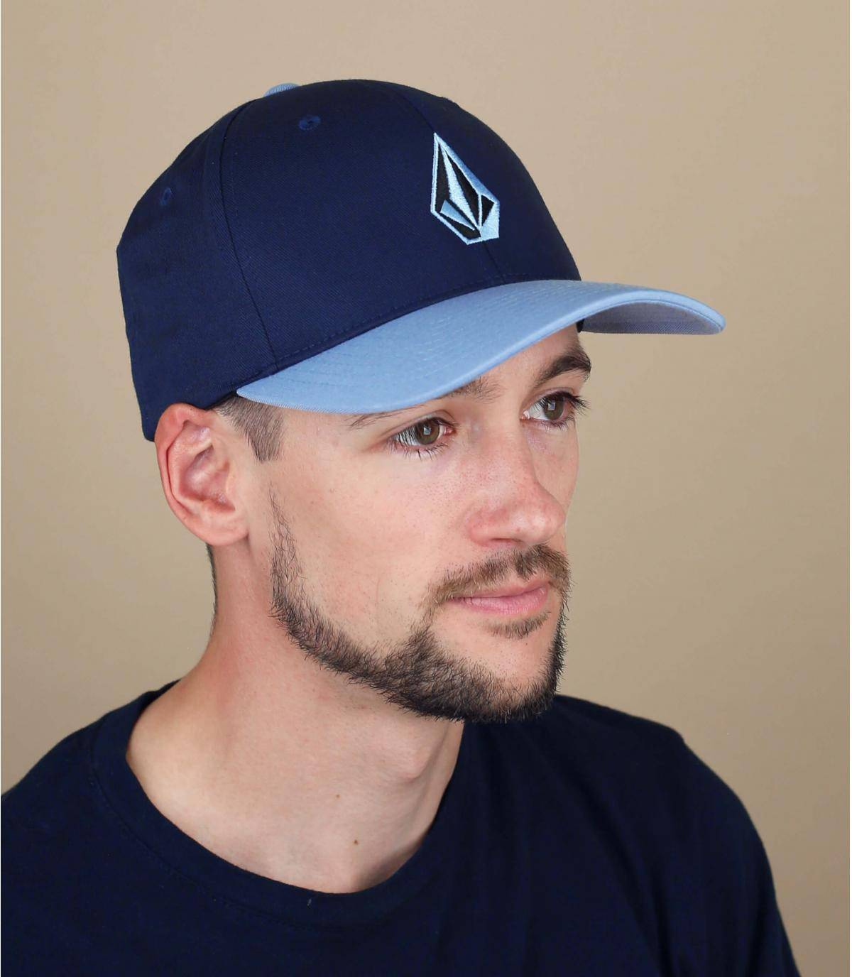 Gorra Volcom azul