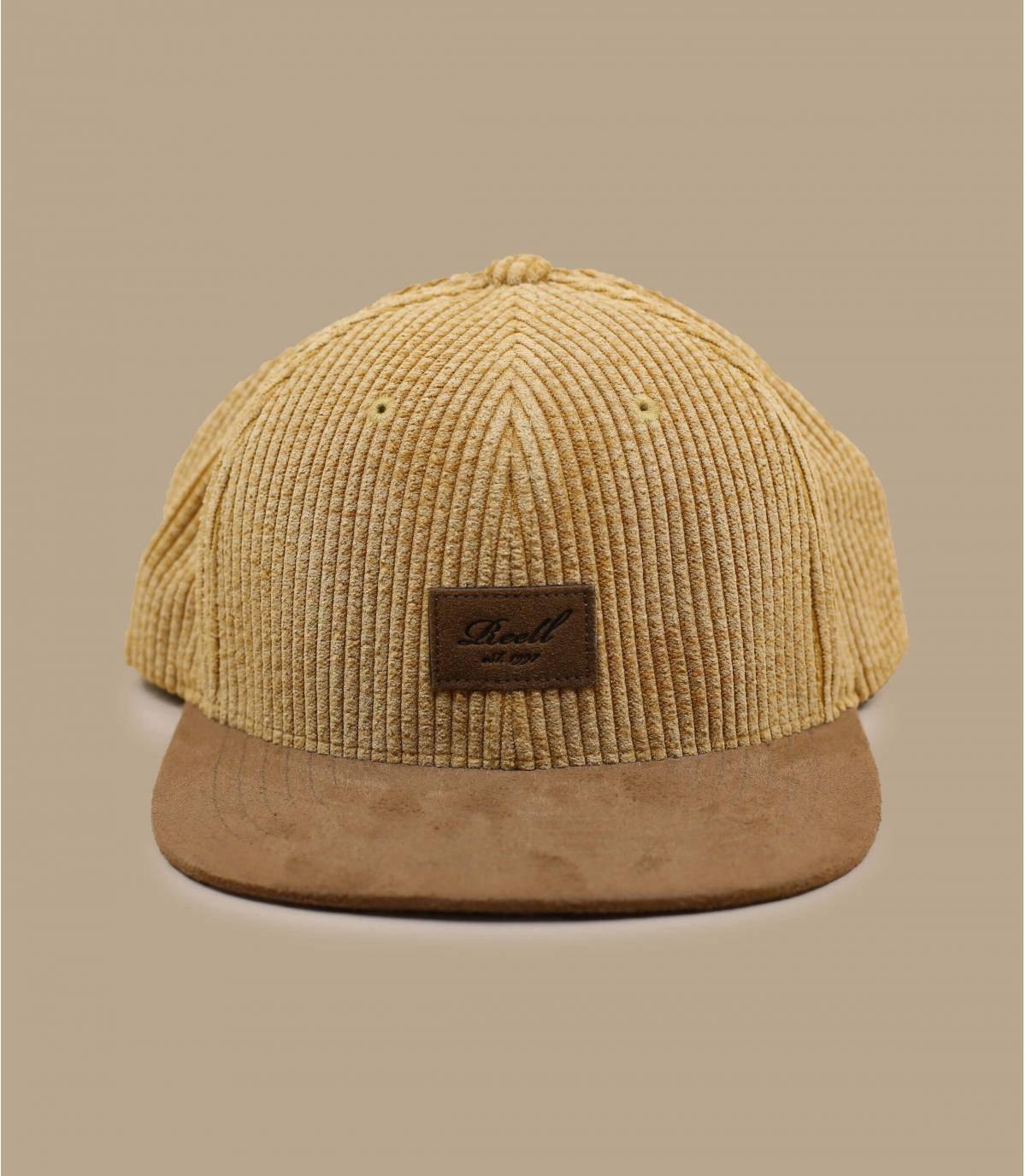 Gorra pana beige