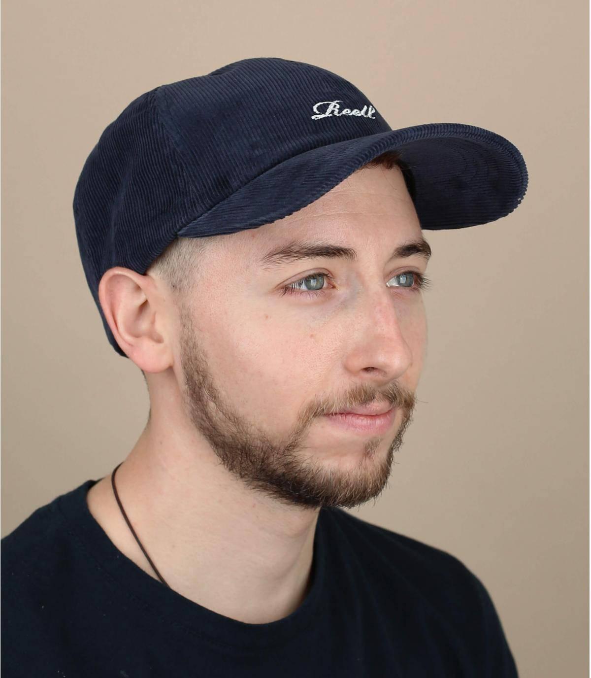 Gorra pana azul Reell