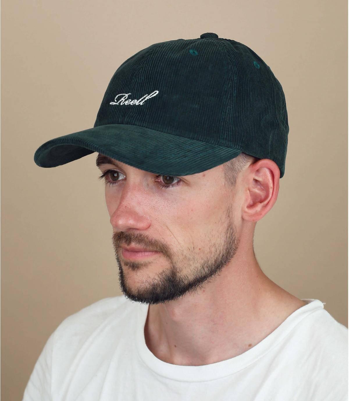 Gorra pana verde Reell