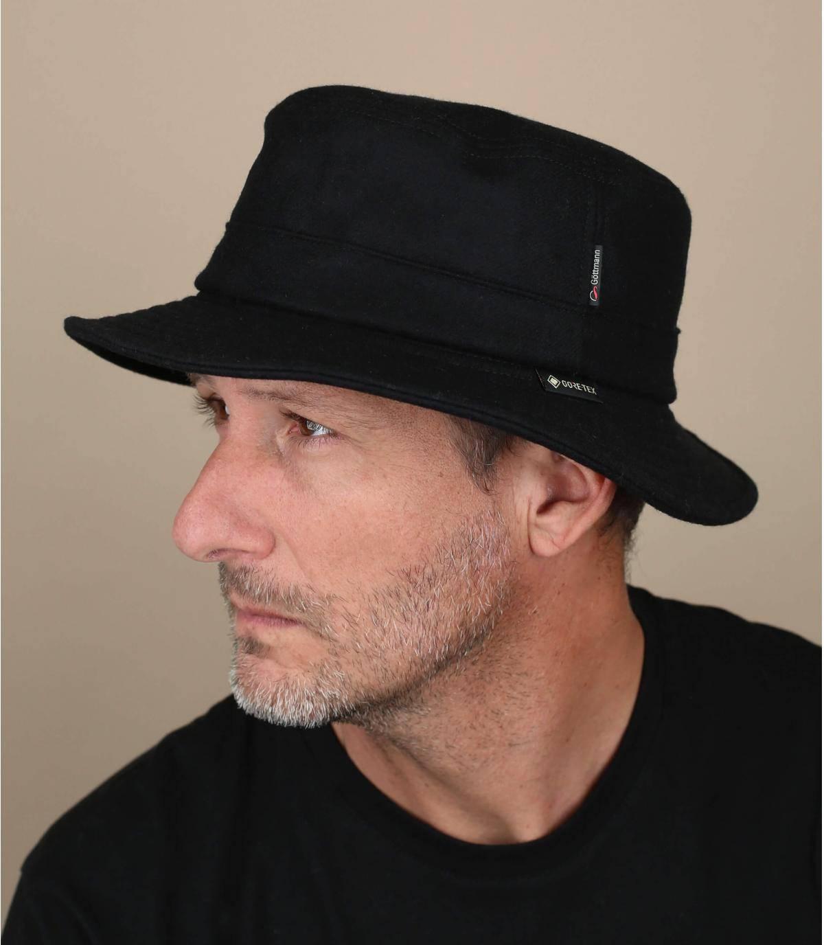 sombrero de pescador Gore-Tex lana