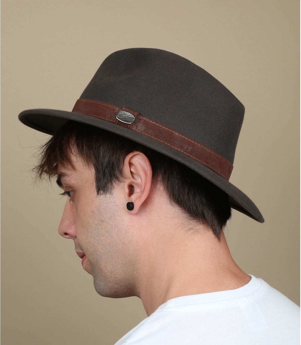 Alessandria fur felt hat