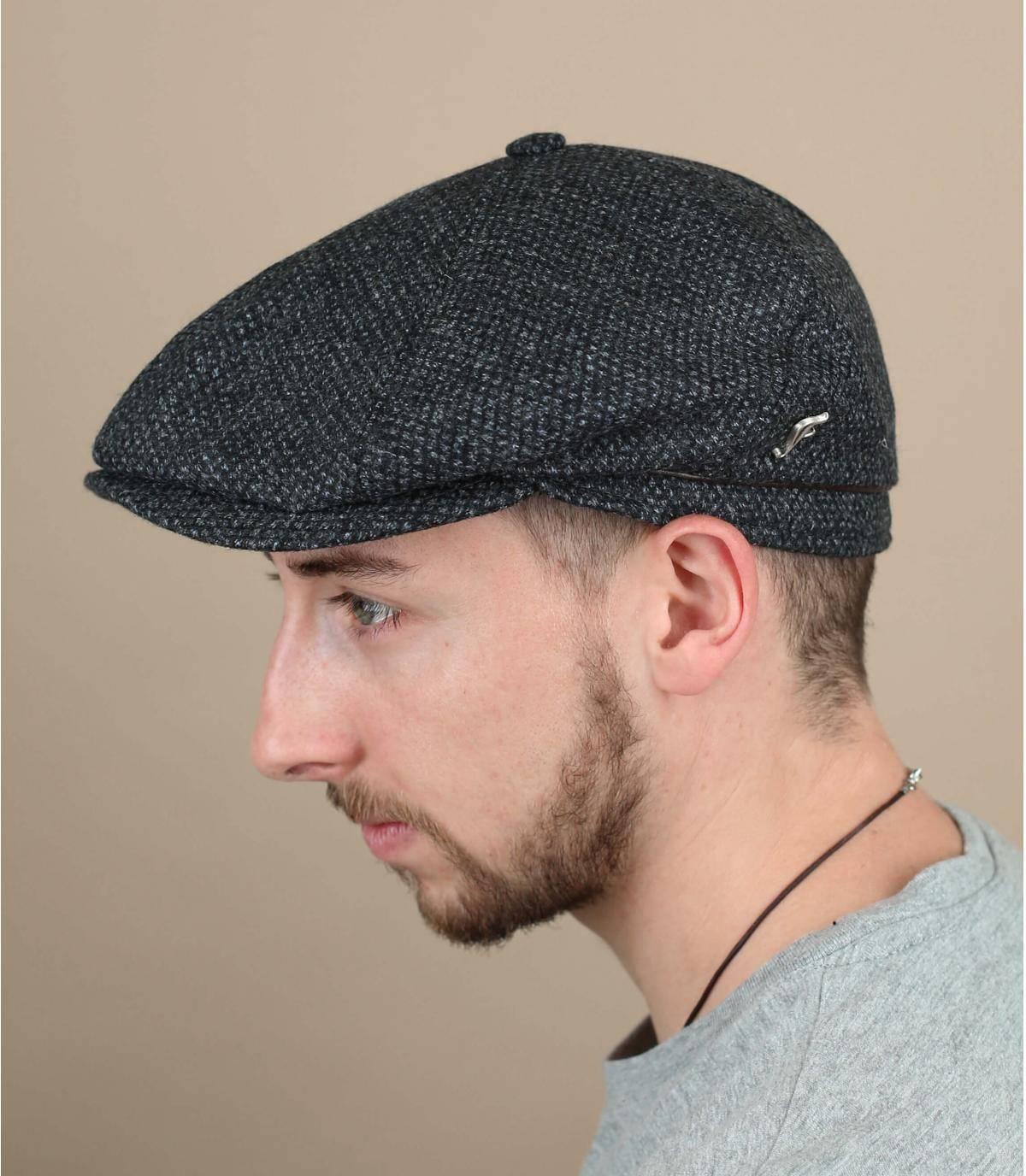 boina lana gris