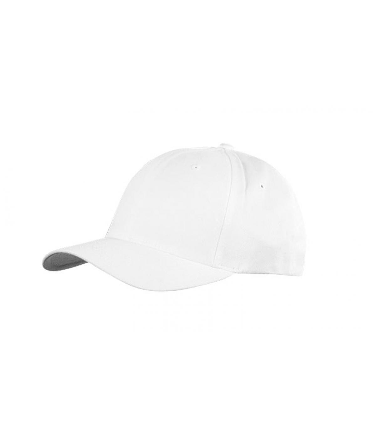 Detalles Flexfit cap white imagen 2