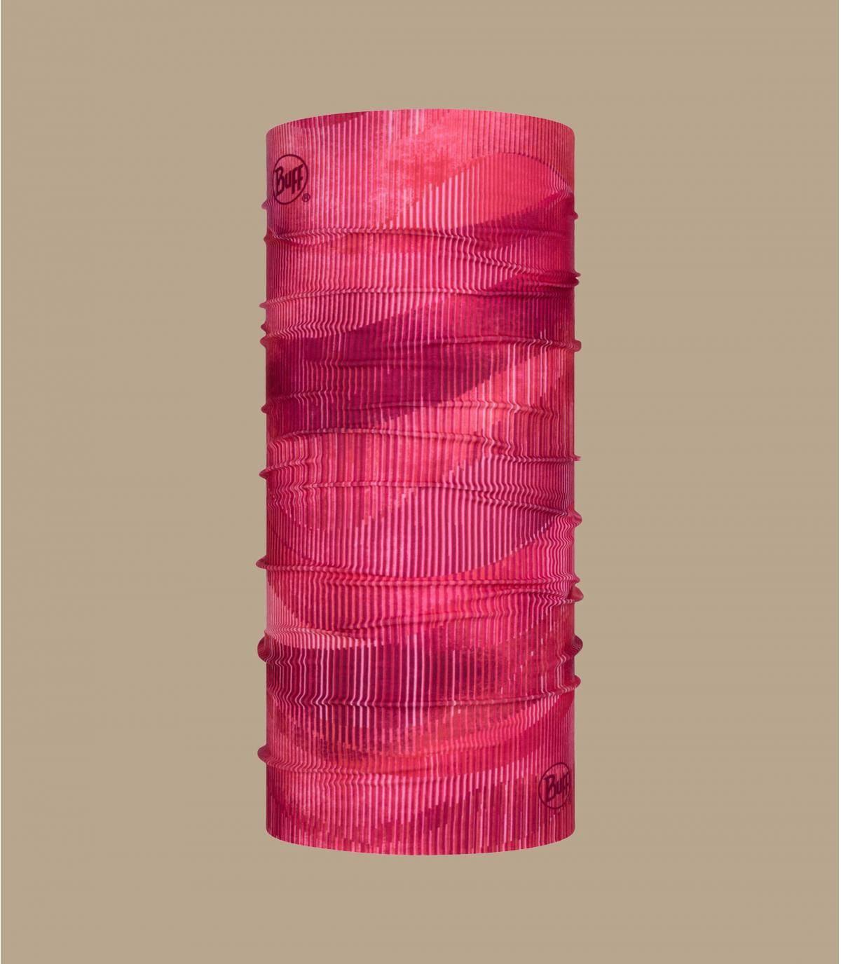 bufanda tubo rosa