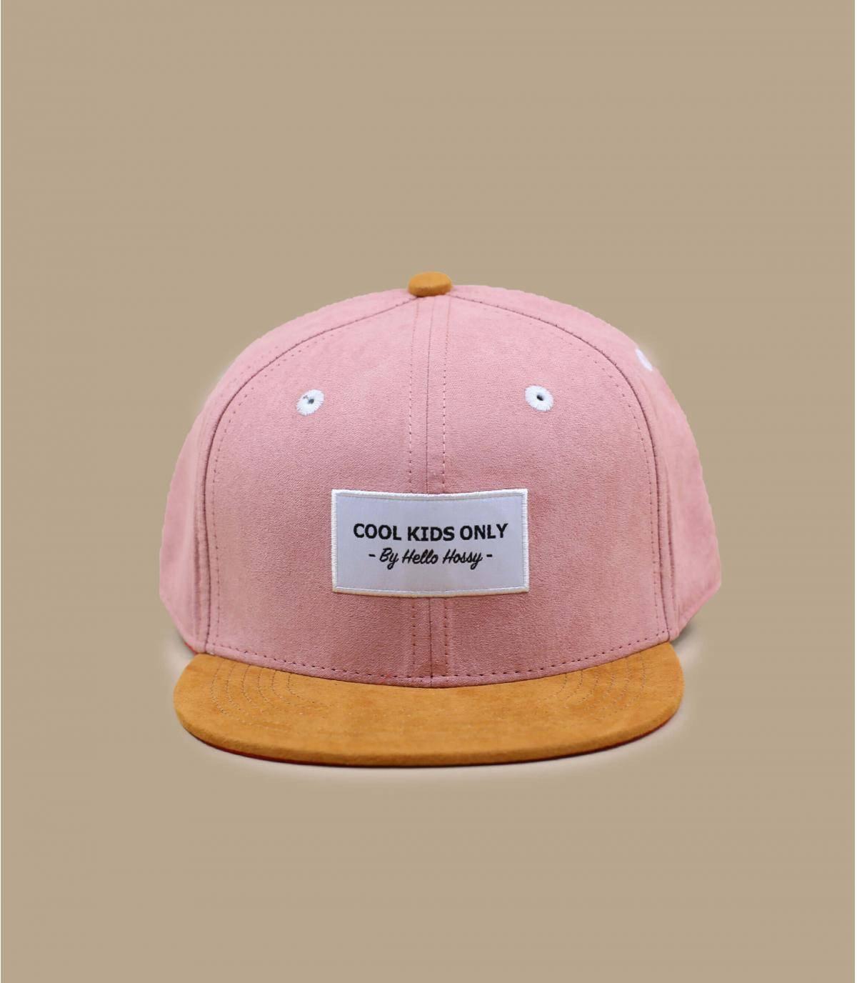 gorra infantil rosa