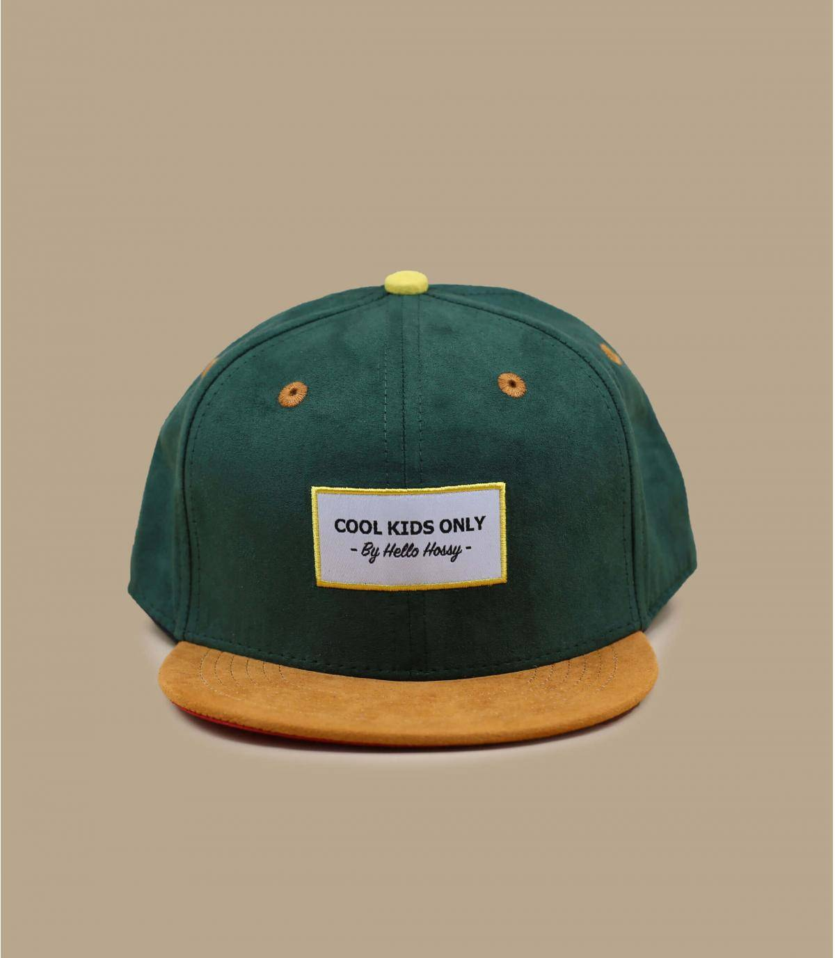 gorra infantil verde