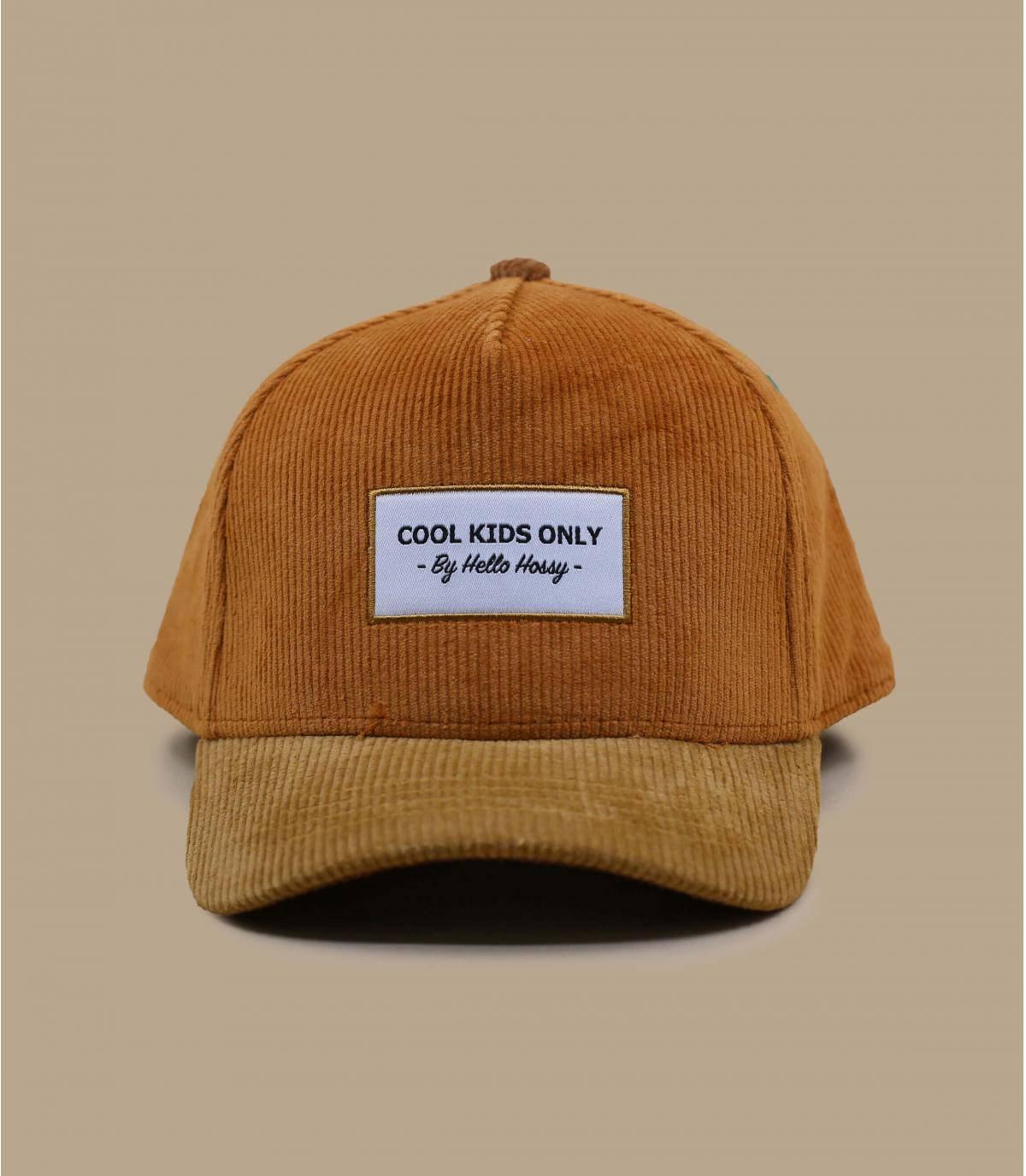 gorra infantil beige