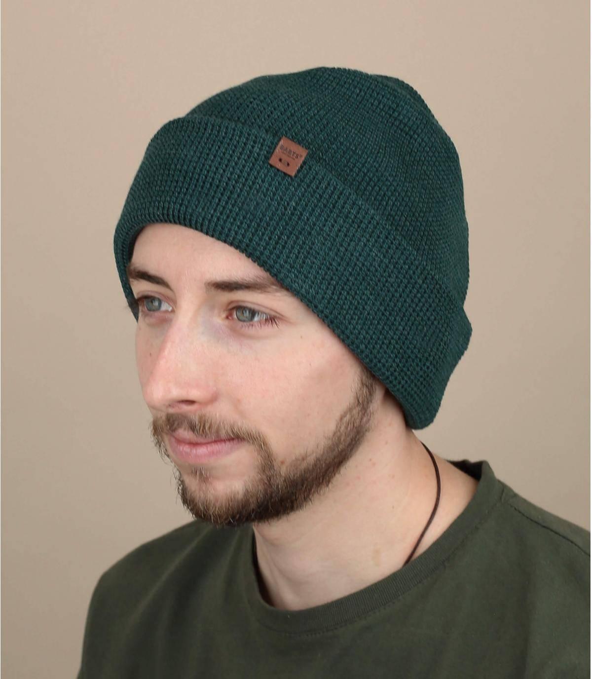 Gorro largo verde