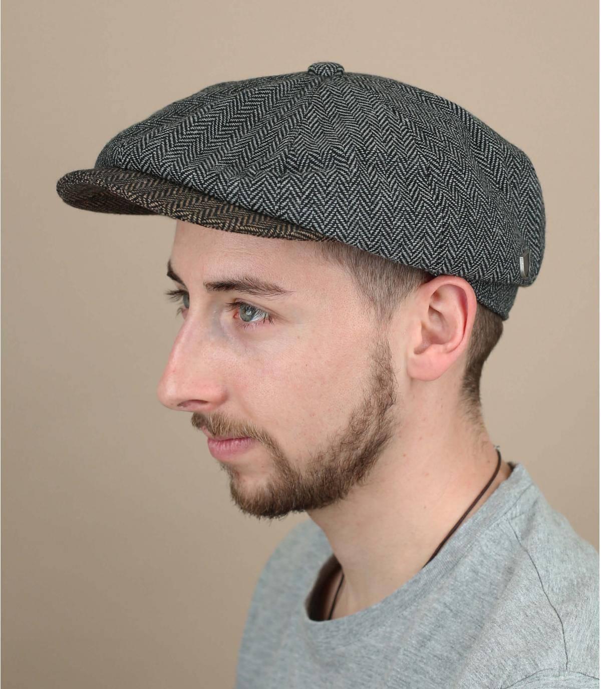 gorra repartidor gris