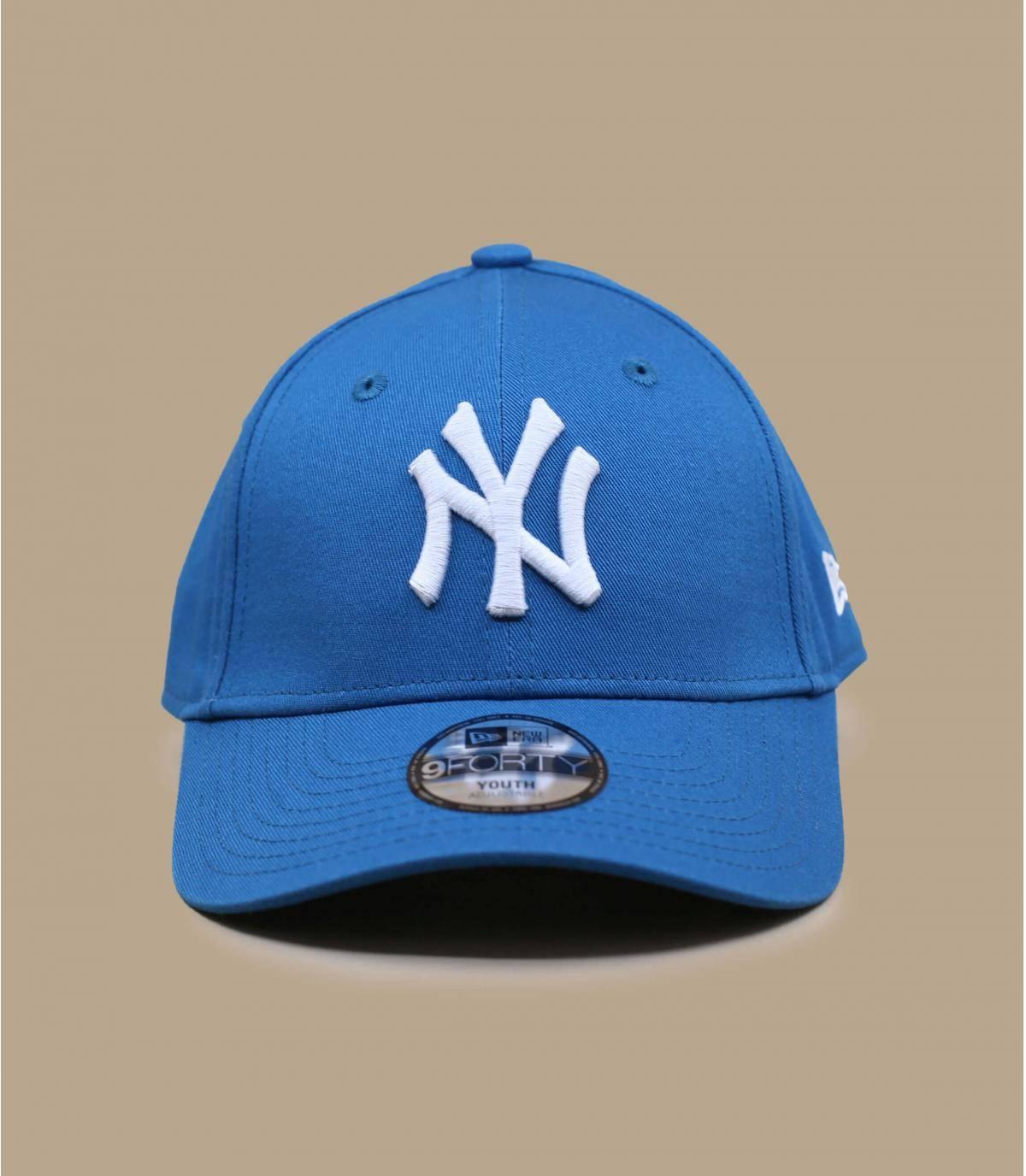 gorra infantil NY  azul