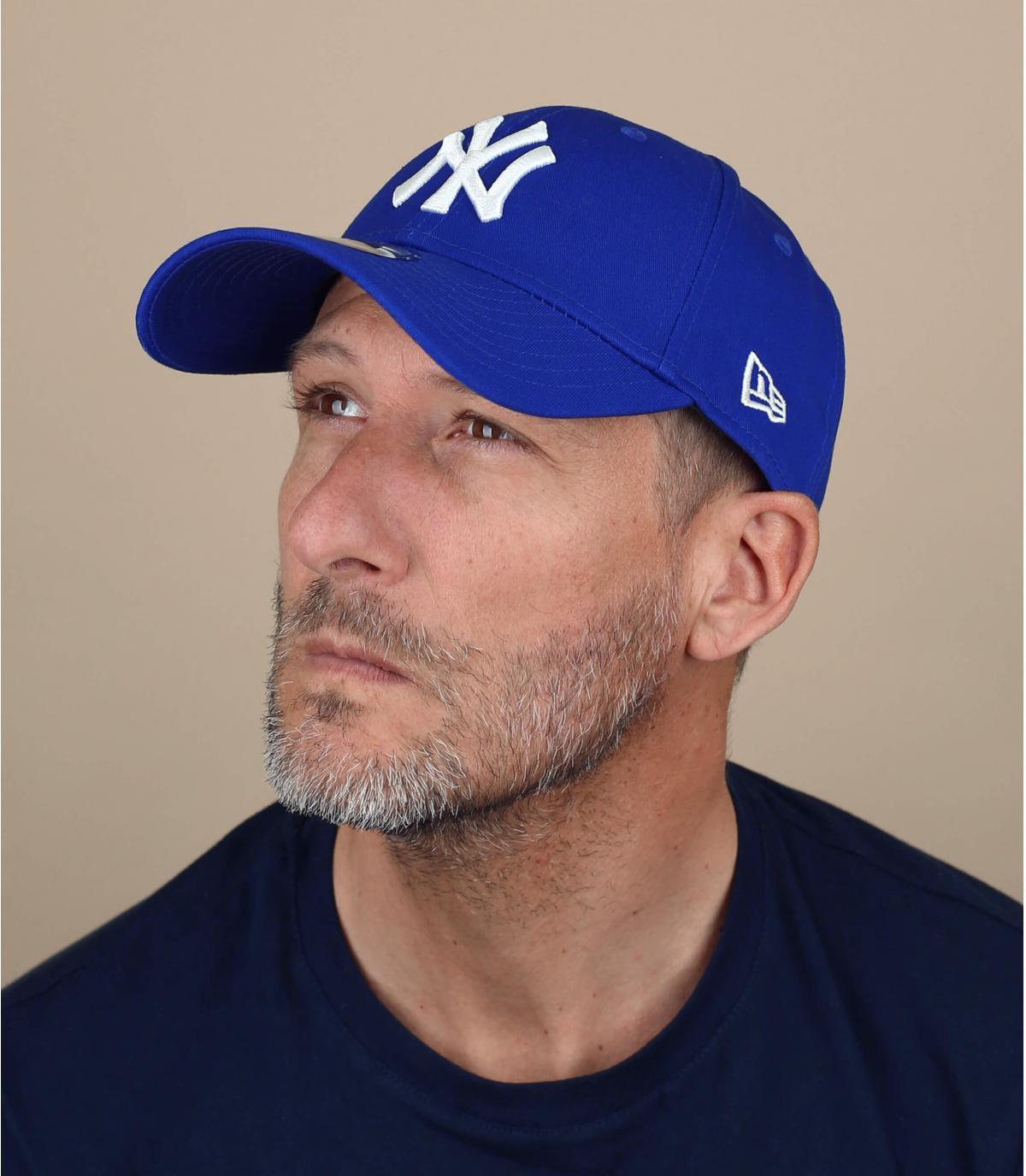Trucker NY league basic royal blue