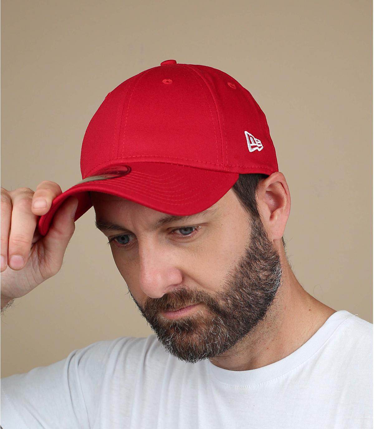 Trucker cap  basic red