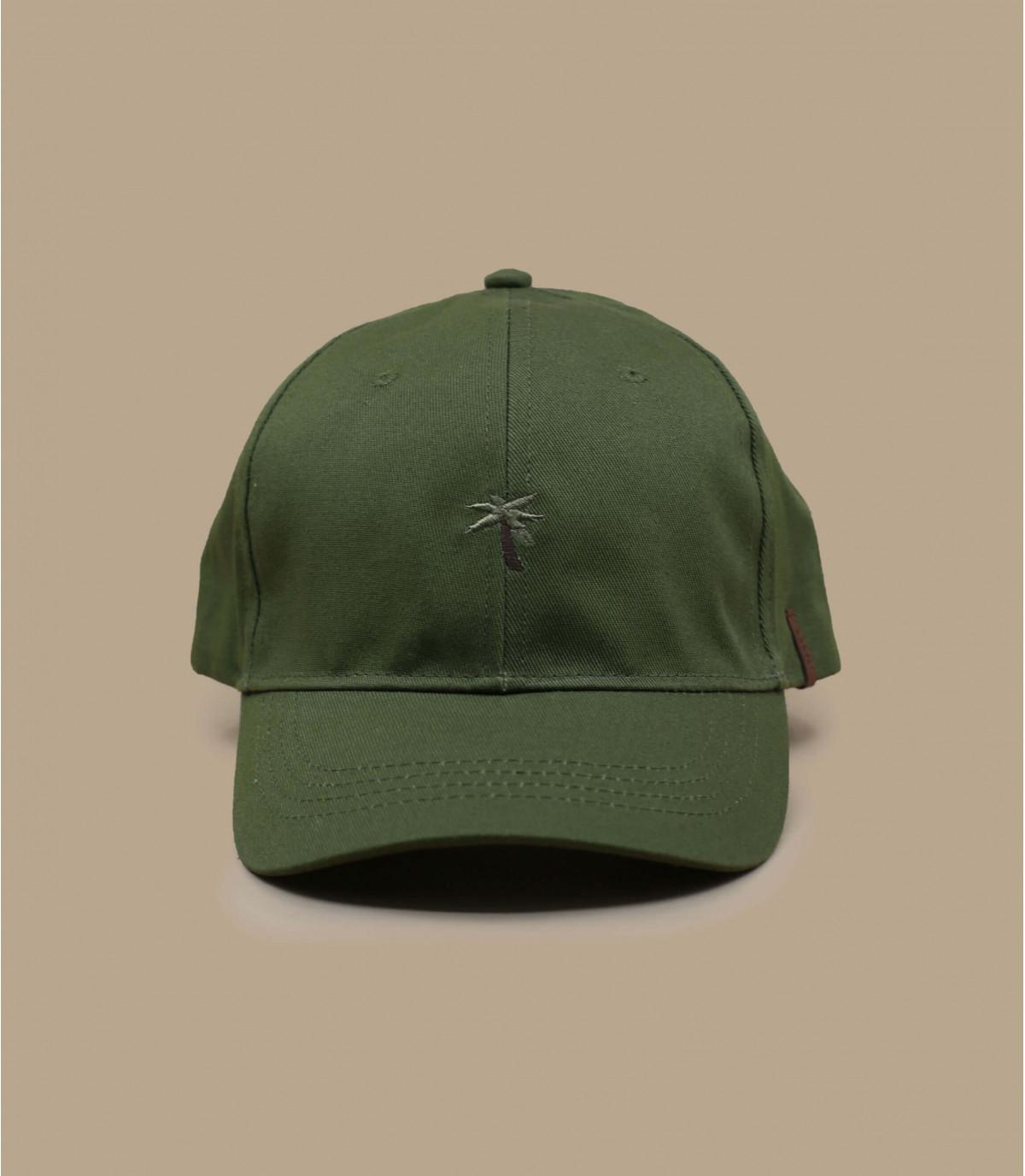 gorra palmera verde