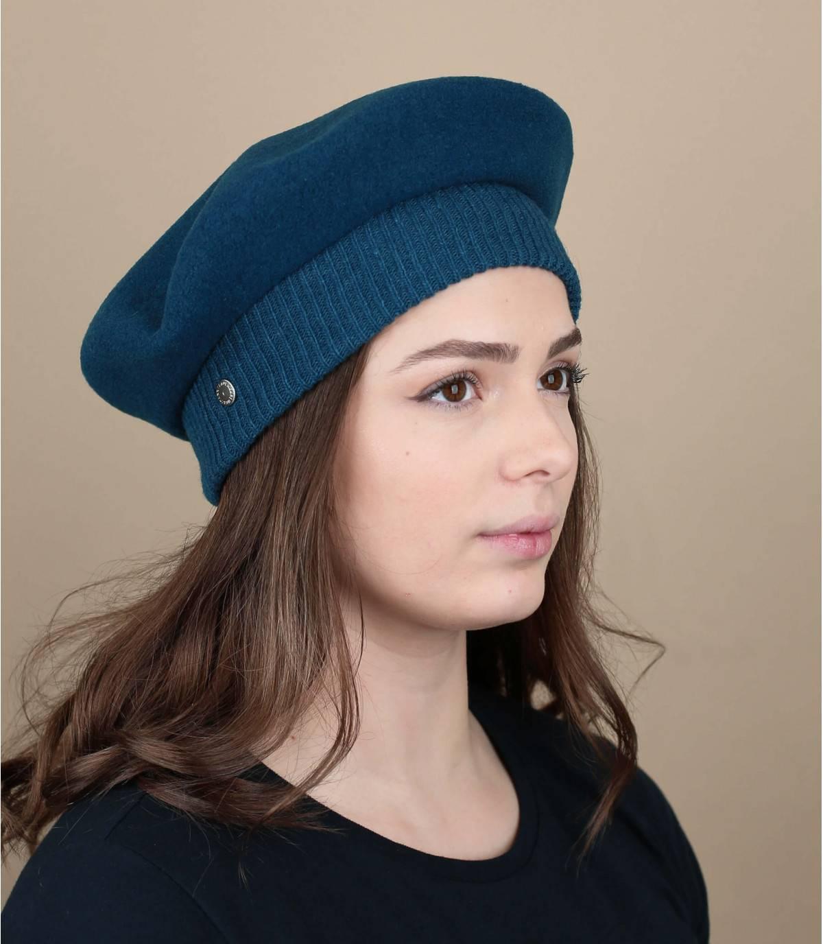 Boina Laulhère azul