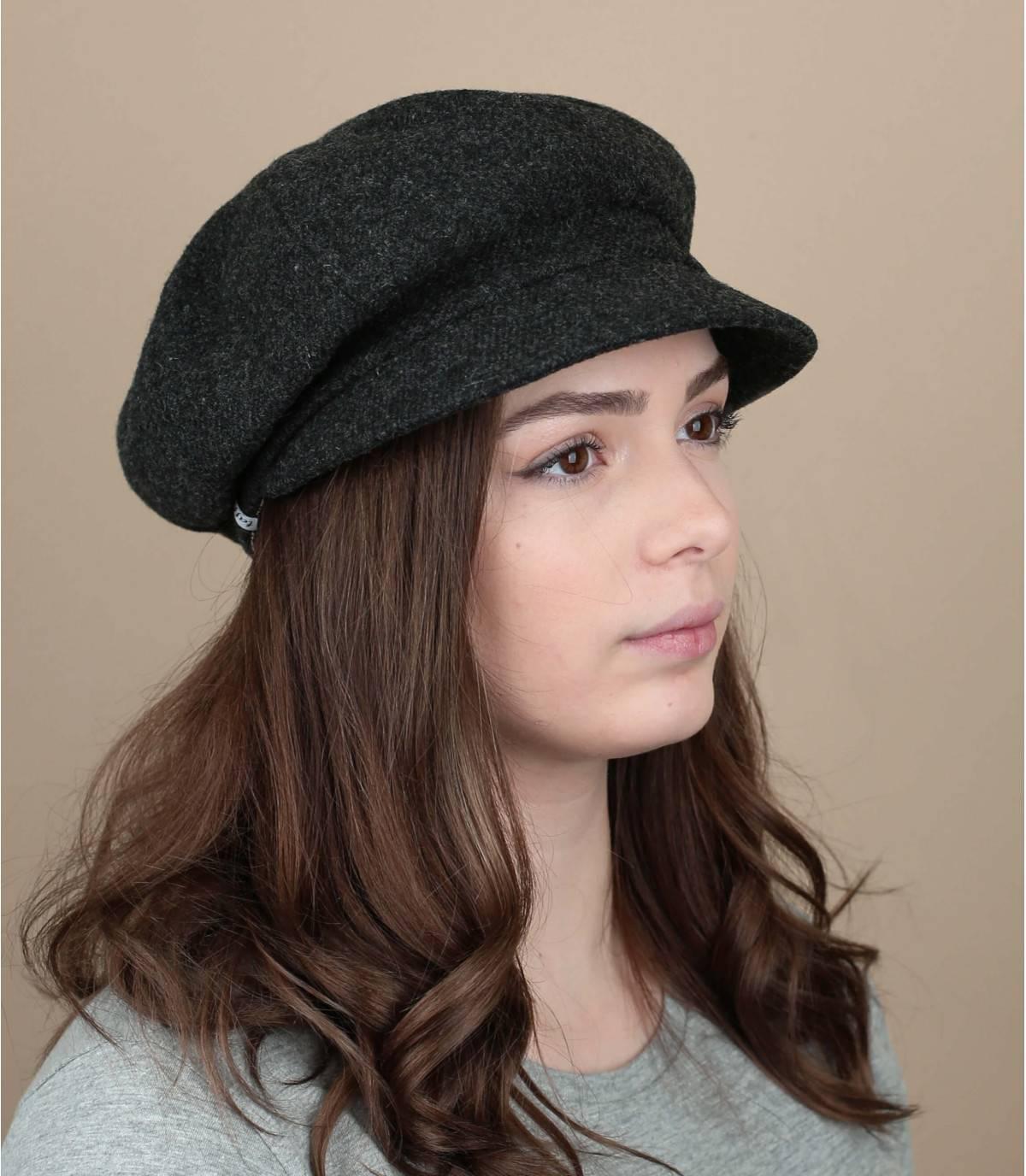 gorra de repartidor lana