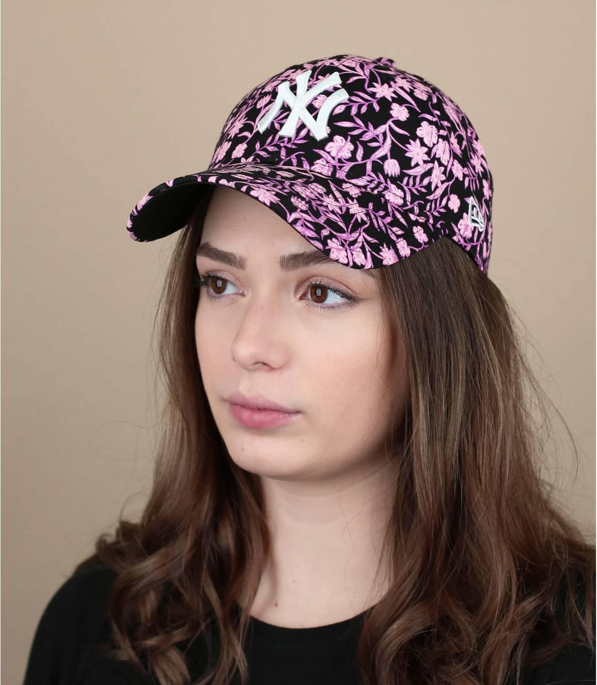gorra flores
