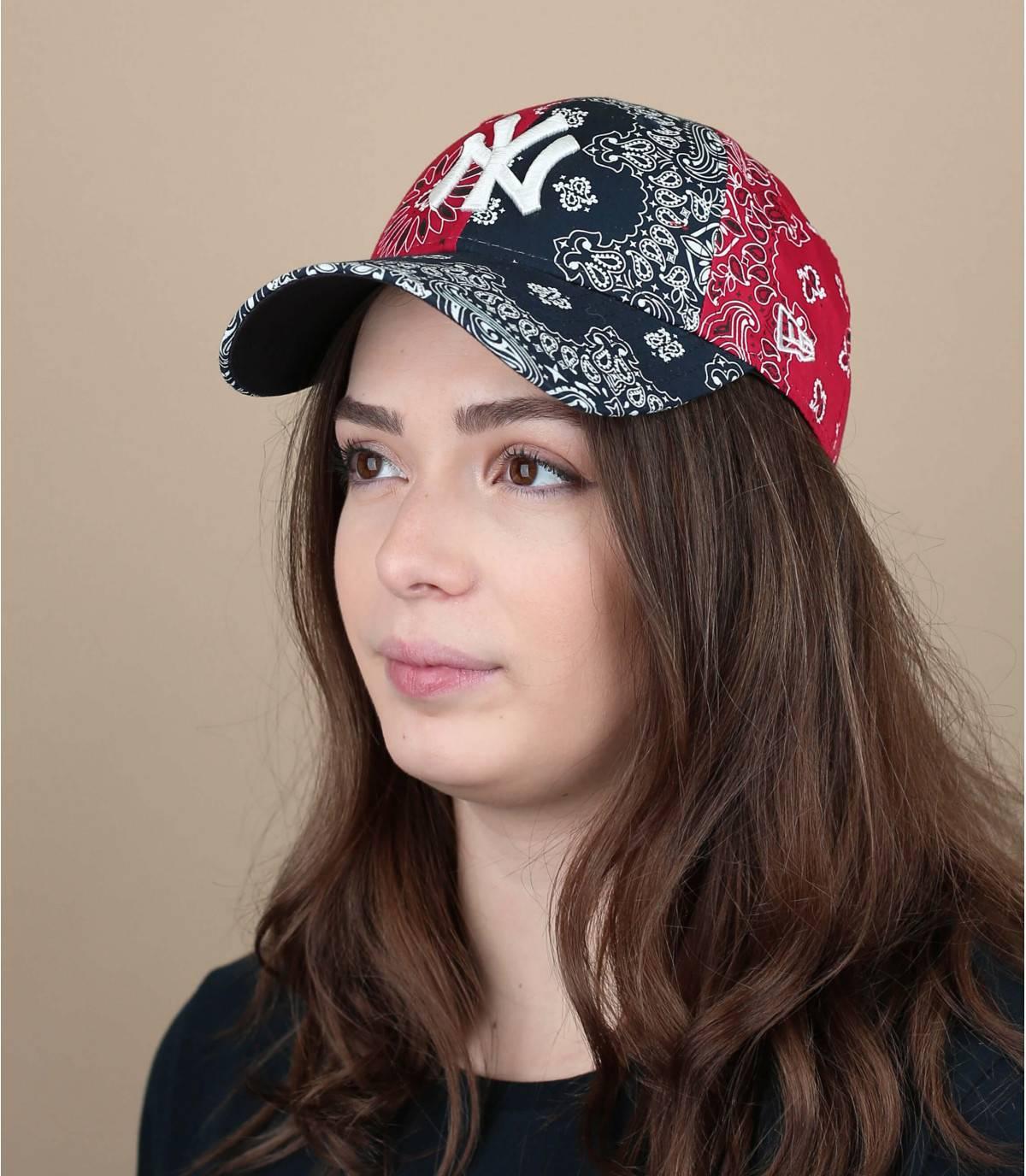 gorra mujer bandana