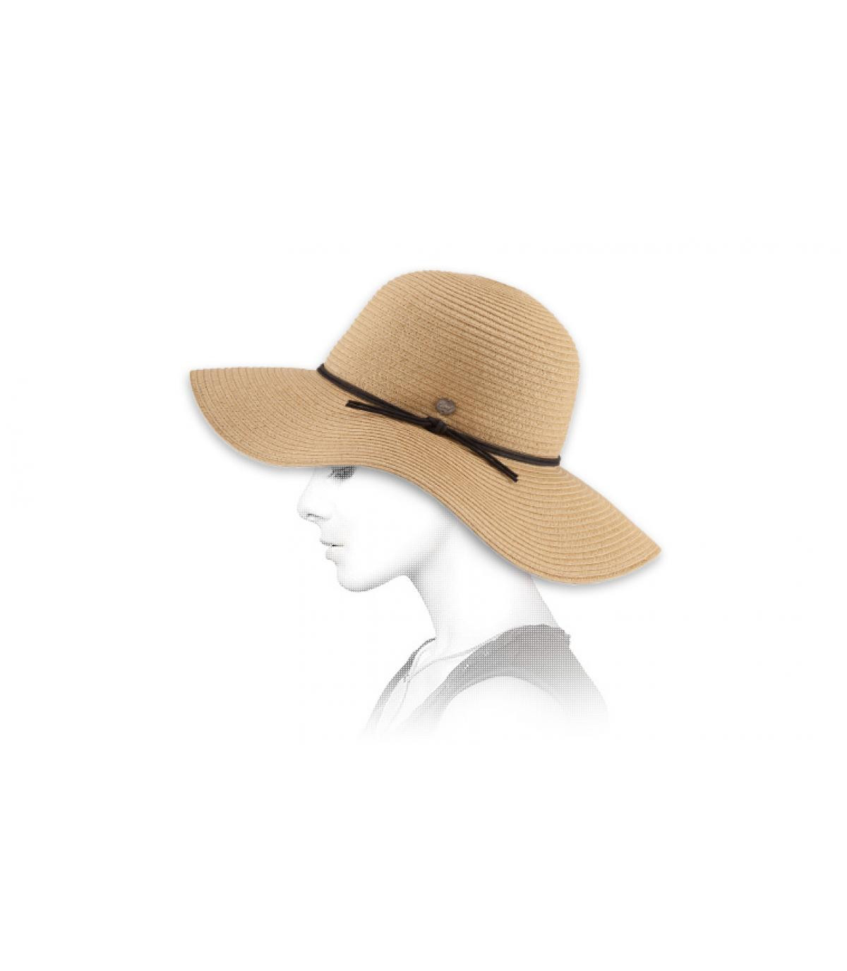sombrero paja mujer Coal