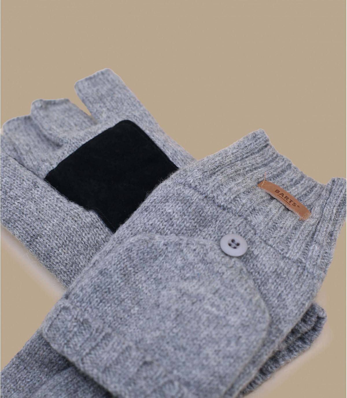 Haakon Bumglove heather gris