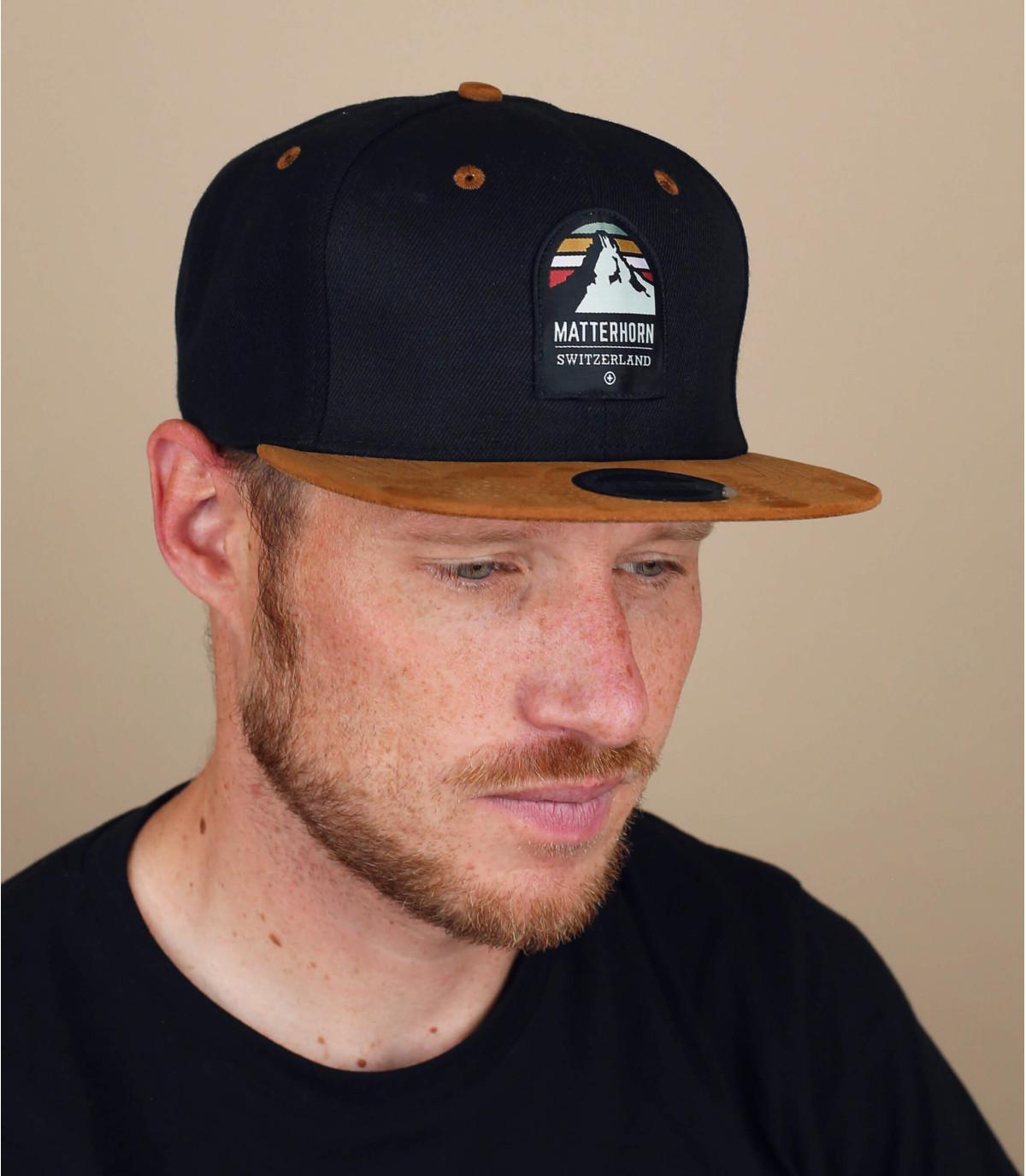 snapback matterhorn noir