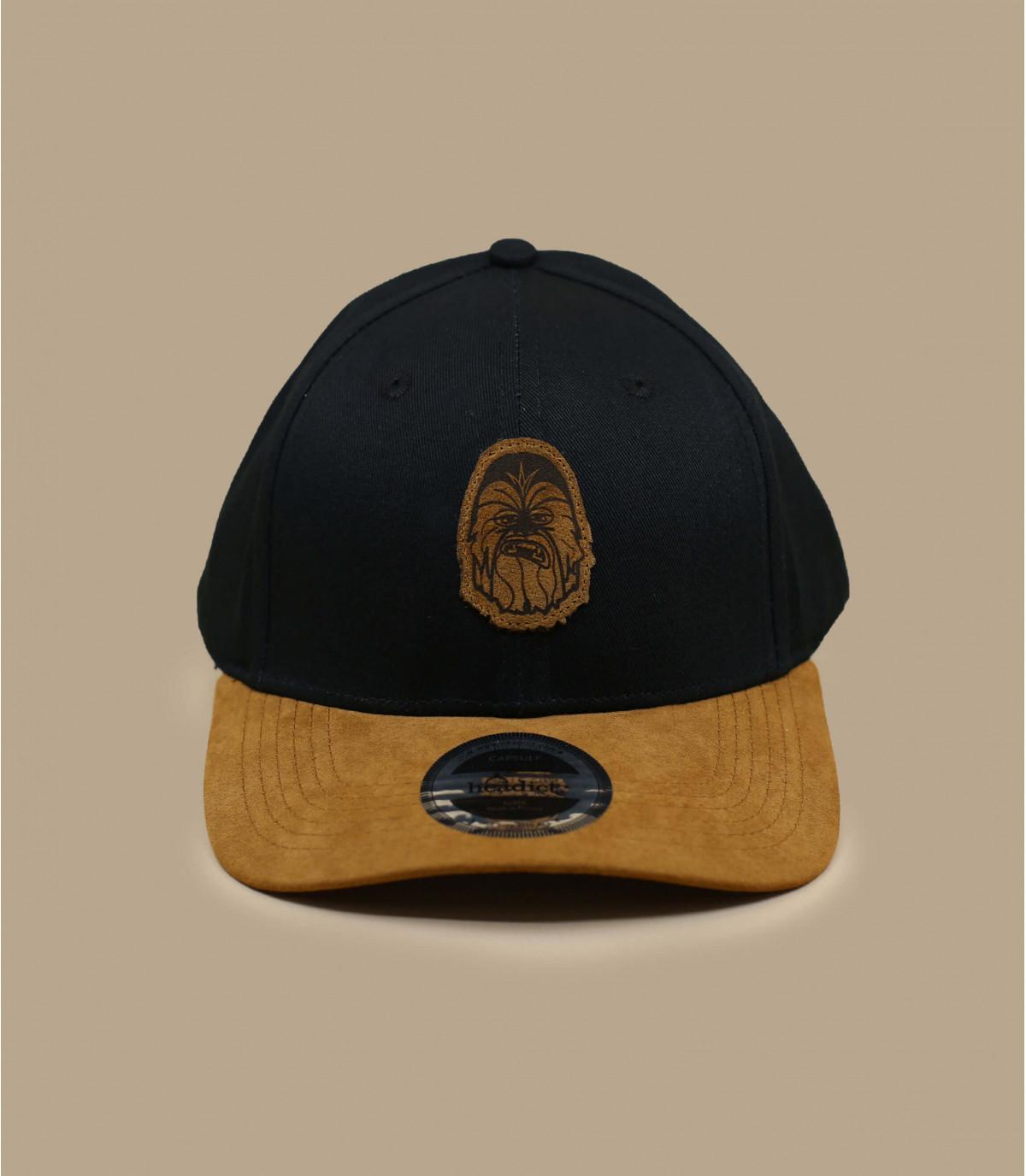 gorra Chewie negro ante