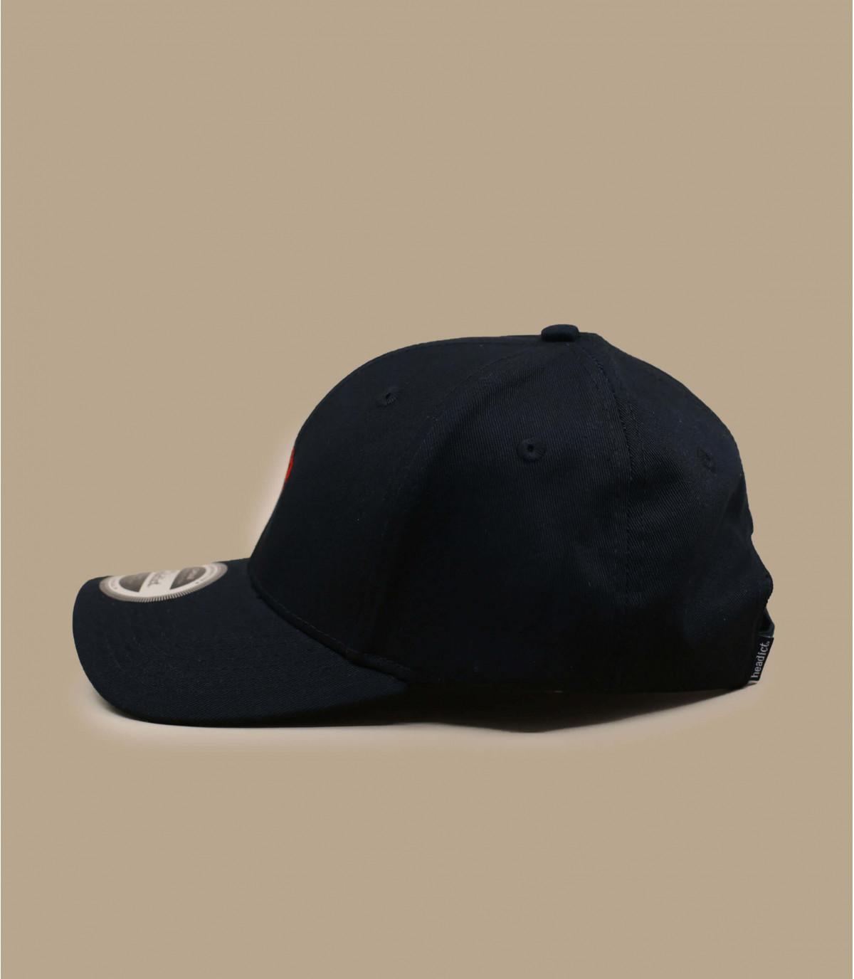 gorra rosa negro