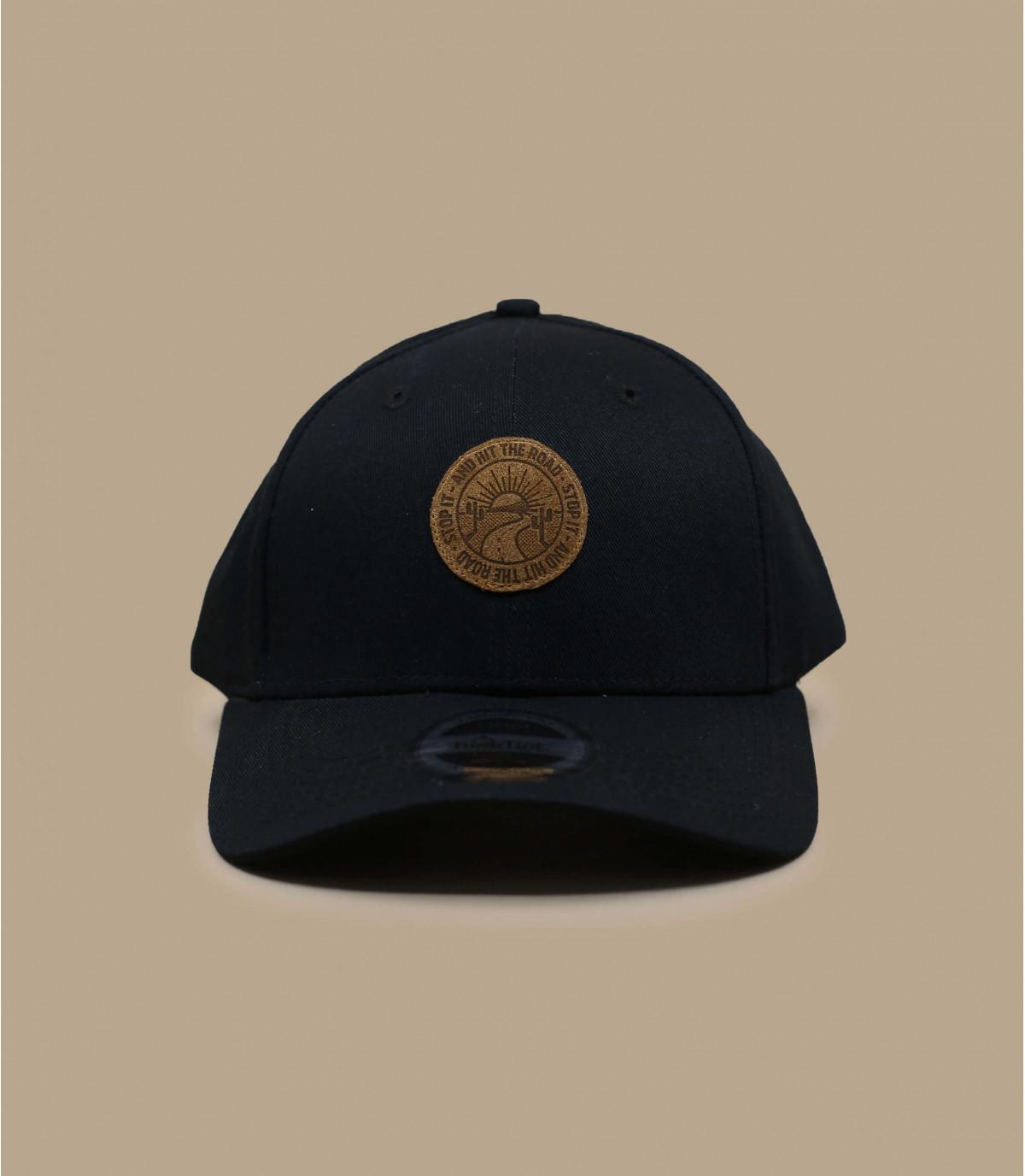 Sunset curva gorra negro