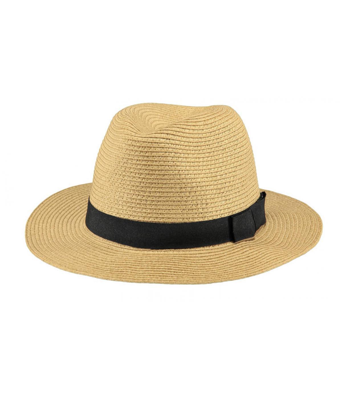 Sombrero paja Barts cinta negro