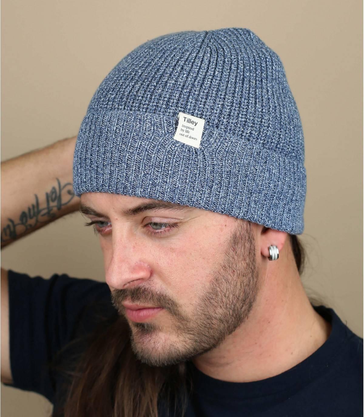 sombrero algodón gris
