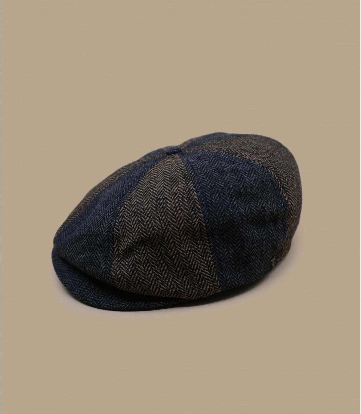 gorra repartidor marrón gris