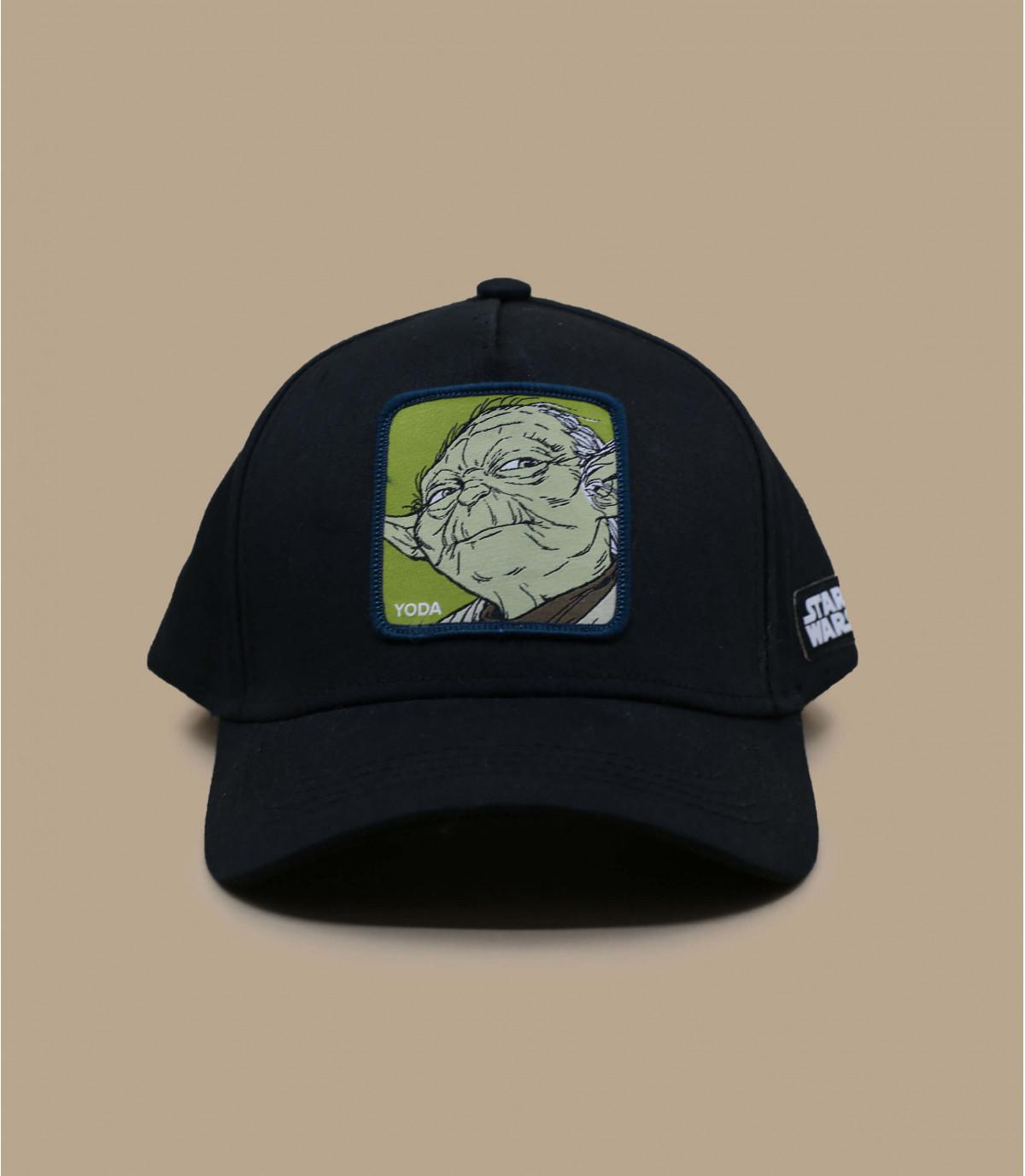 trucker Yoda negro