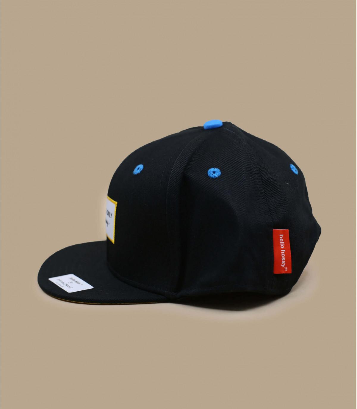 gorra infantil negro Hossy