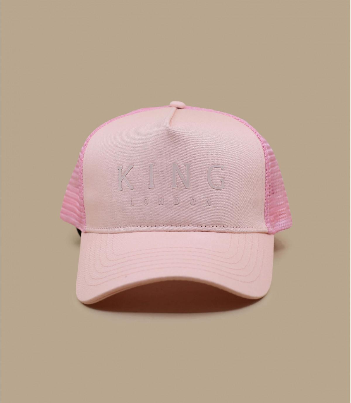 trucker King rosa