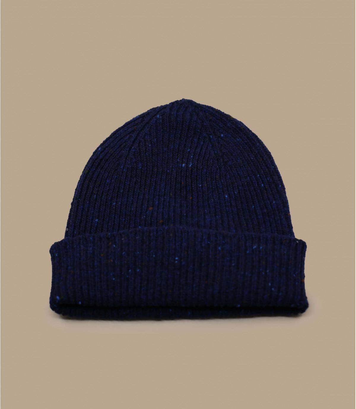 gorro docker lana azul